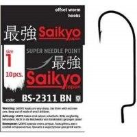 Крючок оффсетный Saikyo BS 2311 BN #1/0