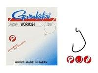 Крючок Gamakatsu Worm 324 Black 8/0