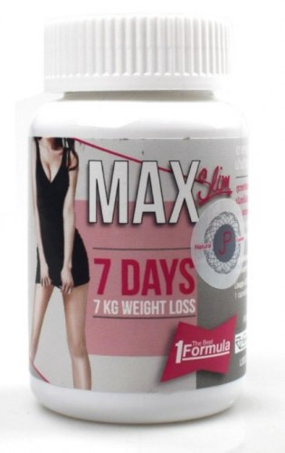 Капсулы для похудения Max Slim уменьшение объемов верхней части тела