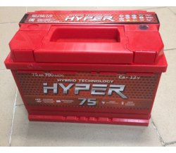 Аккумулятор Hyper 75 R