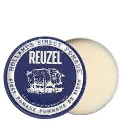 Синяя волокнистая помада для укладки сильной фиксации Fiber Pomade, 113 г Reuzel