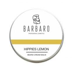 Крем-бальзам для бороды «Hippies lemon», 50 мл. BARBARO