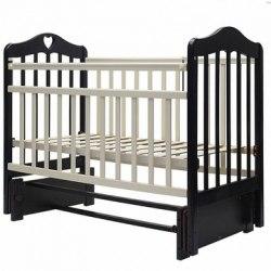 Детская кроватка Топотушки Оливия-5 (белый,слоновая кость,венге-слоновая кость)