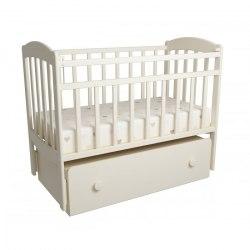 Детская кроватка ФА-Мебель Милена-1 (слоновая кость)