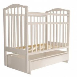 Детская кроватка Агат Золушка 4 (слоновая кость)