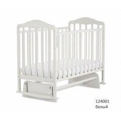 Детская кроватка СКВ 124001 (белый)