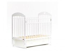 Детская кроватка Бамбини Комфорт 19 (белый)