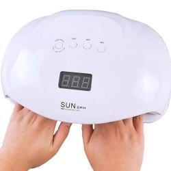 Лампа для маникюра SUN X plus 72W Белая SUNUV