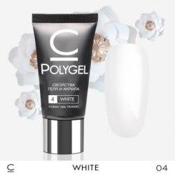 Полигель (PolyGel) Cosmo №4 Белый