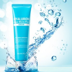 Крем гиалуроновый SECRET KEY Hyaluron Aqua Micro-Peel Cream 70гр