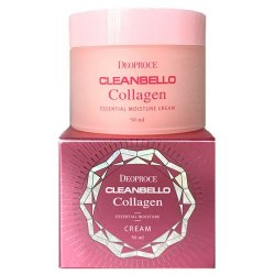 Крем для лица с коллагеном DEOPROCE CLEANBELLO COLLAGEN ESSENTIAL MOISTURE CREAM 50ml
