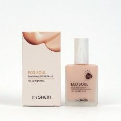 База под макияж THE SAEM Eco Soul Peach Base 25 ml