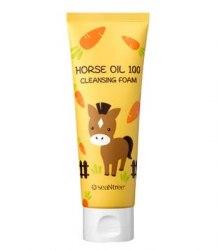 Пенка для умывания SEANTREE Horse Oil 100 Cleansing Foam 120ml