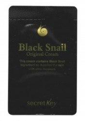 Крем для лица с экстрактом черной улитки SECRET KEY Black Snail Original Cream 1.5ml Пробник