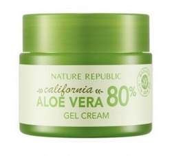 Гель-крем из Калифорнийского Алоэ Вера NATURE REPUBLIC CALIFORNIA ALOE VERA 80% GEL CREAM 50мл
