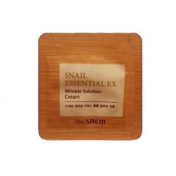 Крем антивозрастной THE SAEM Snail Essential EX Wrinkle Solution Cream 1мл