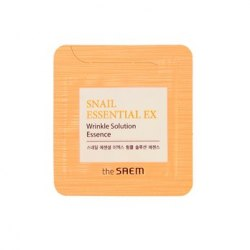 Эссенция антивозрастная THE SAEM Snail Essential EX Wrinkle Solution Essence 1мл