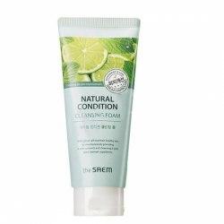 Пенка для умывания жирной кожи THE SAEM Natural Condition Cleansing Foam [Sebum Controlling] 150мл