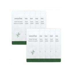 Лосьон-эссенция с зеленым чаем INNISFREE Green Tea Seed Essence-in-Lotion 1ml