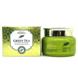 Крем на основе зеленого чая DEOPROCE PREMIUM DEOPROCE GREENTEA TOTAL SOLUTION CREAM 100мл