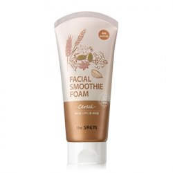 Пенка для умывания для лица THE SAEM Cereal Facial Smoothie Foam(W) 150мл