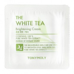 Осветляющий крем для лица TONY MOLY The White Tea Brightening Cream 1ml Пробник