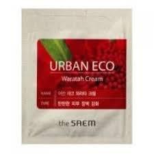 Крем для лица с экстрактом телопеи пробник THE SAEM Urban Eco Waratah Cream Pouch 1мл