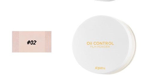 Матирующая рассыпчатая пудра A'PIEU Oil Control Film Powder XP 5.5g