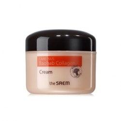 Крем коллагеновый баобаб THE SAEM Care Plus Baobab Collagen Cream 100мл