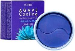 Охлаждающие гидрогелевые патчи с агавой PETITFEE Agave Cooling Hydrogel Eye Mask