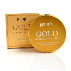 Гидрогелевые патчи для глаз с золотом PETITFEE Gold Hydrogel Eye Patch