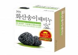 Мыло с вулканическим пеплом MUKUNGHWA Jeju Volcanic Scoria Body Soap 85гр