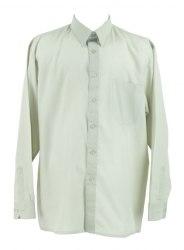 Светло-зеленая рубашка с длинным рукавом PARAHON 3910