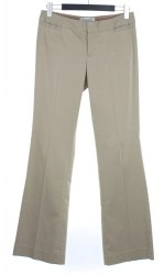 Оливковые прямого кроя брюки BANANA REPUBLIC 4092