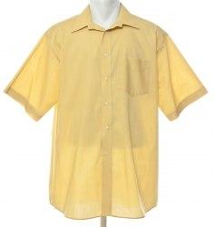 Желтая рубашка с коротким рукавом Bhs 4618