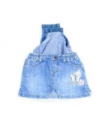 Джинсовая юбочка-бодик с вышивкой SIGNATURE 6719