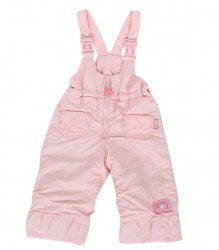 Розовый брючный полукомбинезон Mariquita 7859