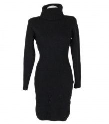 Вязаное приталенное платье None 8213
