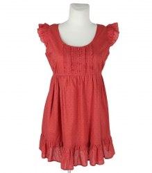 Терракотовое платье Papaya 8352
