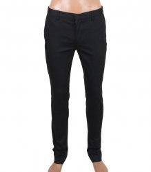 Черные хлопковые брюки Topman 8432