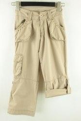 Бежевые брюки с регулируемой длиной Denim Co 1708