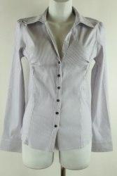 Эластичная рубашка в полоску с длинным рукавом Livre 1824