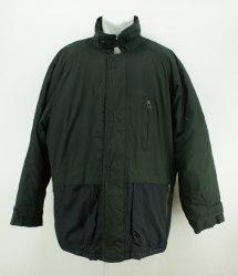 Теплая темно-зеленая куртка Raintex 2757