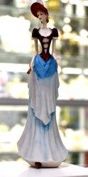 Статуэтка Дама с веером art.10232
