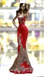 Статуэтка Девушка в платье art.10243