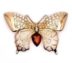 Брошь Бабочка 2 b-083