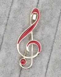 Брошь Скрипичный ключ b-003