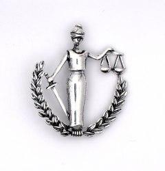 Брошь Правосудие b-168
