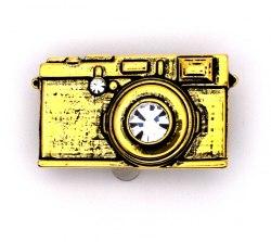 Брошь Фотоаппарат 2 b-174
