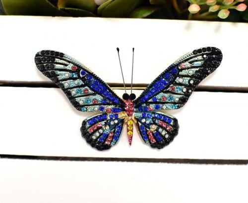 Брошь Бабочка 17 b-239